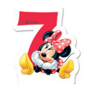 DisneyMinnie cake candle, number candle