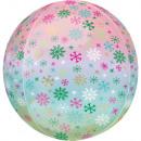 Ombre Snowflakes, Snowflake Foil Balloons 40 cm