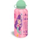 mayorista Ocio y Camping: Botella de aluminio sirena, sirena 500ml.