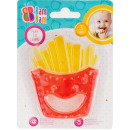 French fries baby chewing