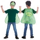 PJ Masks, Pisces Heroes Greg, Gekko costumes 4-8 y
