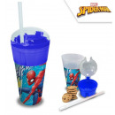 Spiderman , Spiderman , Sparkling and Snack Glass,