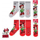 Kids thick socks DisneyMinnie 23-34
