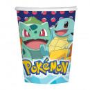 Pokémon Pappbecher 8 Stück 250 ml