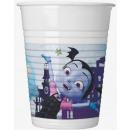 Disney Vampirina Plastic cups of 8 pieces 200 ml