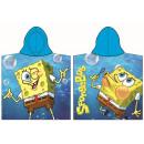 Ponczo na ręczniki plażowe SpongeBob 60 * 120 cm