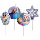 Disney Frozen, Frozen cake with candles, 4 pieces