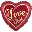I love You, I Love Foil Balloons 43 cm