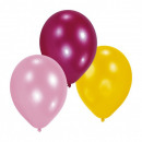 Color balloon with balloons 10 pcs