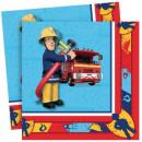 Fireman Sam , Sam is 20 pieces of fire napkin