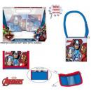 Holster shoulder bag + wallet set Avengers