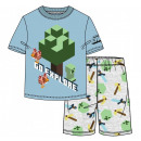 Minecraft kid short pyjamas 6-12 years