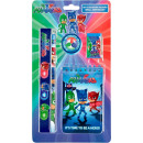 Stationery Set (5 Pieces) PJ Masks, Piss Heroes