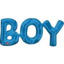 Chłopiec Balony Foliowe Niebieskie 50 * 22 cm