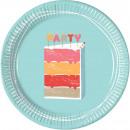 Tort urodzinowy, tort urodzinowy Paper Plate 8