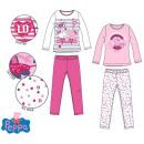 Peppa malac gyerek hosszú pizsama 3-6 év