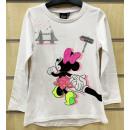 nagyker Gyerek- és babaruha: Disney Minnie gyerek hosszú ujjú póló 2-7 év