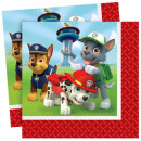 wholesale Licensed Products: Paw Patrol, Paw Patrol napkin 20 Pcs