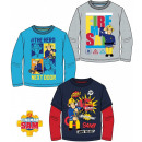 Kids Long Sleeve T-Shirt Fireman Sam , Sam Fireman