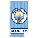 Manchester City FC bath towel, beach towel