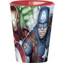 Avengers glass, plastic 260 ml