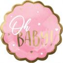 Baby Girl fólia lufi 55 cm