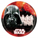 wholesale Party Items: Star Wars Dark Side, Paper plate 8 pcs 23 cm