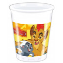 wholesale Drinking Glasses: Disney The Lion King Plastic cup 8 pcs 200 ml