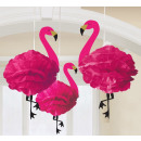 wholesale Figures & Sculptures: Flamingo, Flamingo Pendant decoration with 3 piece