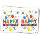 Happy Birthday Tafelafdekking 120 * 180 cm