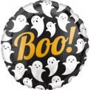 Halloween Boo Foil Balloons 43 cm