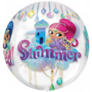 grossiste Cadeaux et papeterie: Shimmer and Shine ballons feuille Ball