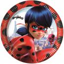 Miraculous Ladybug Paper tray 8 pieces 20 cm