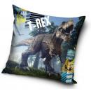 Dinosaur pillow, decorative pillow 40 * 40 cm