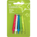 Color cake candle, candle set of 10 pieces