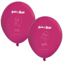 Masha and the Bear Balloon, balloons 8 pcs