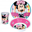 Vaisselle, mélamine fixe Disney Minnie