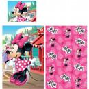 lit pour enfants linge Disney Minnie 90 × 140 cm,