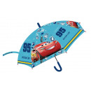 Kid's semi-automatic umbrella for Disney Cars