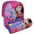 Sac à dos sac + stylo Disney Minnie