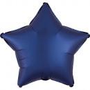 raso, raso Palloncini foil blu scuro 43 cm