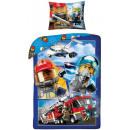 LEGO Stadtbettwäsche 140 × 200 cm, 70 × 90 cm
