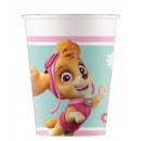 Paw Patrol Skye and Everest, Paper cup 8 pcs
