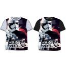 mayorista Artículos con licencia: Star Wars camiseta corta para niños, top 110-140 c