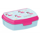 wholesale Lunchboxes & Water Bottles: Sandwich Box Flamingo, Flamingo