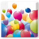 groothandel Stationery & Gifts:Balloon servet 20 stuks