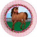 wholesale Gifts & Stationery: Rider, The Horses  Dough plate 8 pcs 23 cm
