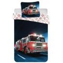wholesale Home & Living: Fire truck bedding 140 × 200cm, 70 × 90 cm