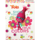 Trolls A / 5 line booklet is 16 sheets