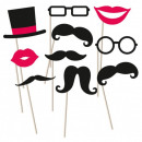 Mustache, Mustache Photo Attachment Set